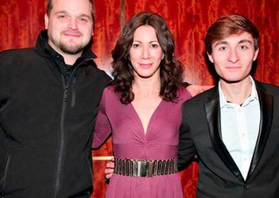 Matt Palmer, Suzanne D' Addario y Hugo Molto
