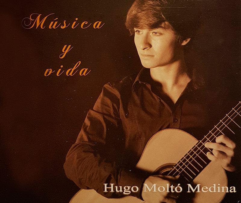 """CD """"Música y vida"""" de Hugo Moltó"""