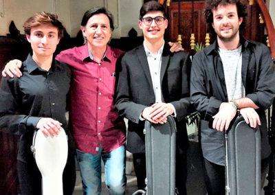 Hugo Molto, Ignacio Rodes, Ramon Emilio y Jesus Ortega
