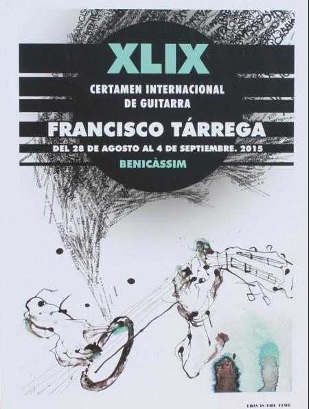 "Premio al mejor intérprete español en el XLIX Certamen Internacional de Guitarra ""Francisco Tàrrega"""